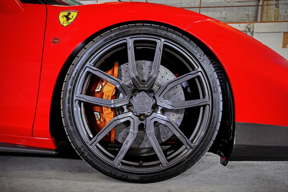 Ferrari 488 GTB by VOS: ¡Más aerodinámico y con 900 CV de potencia! 3