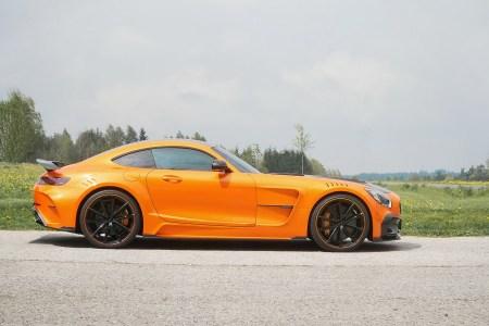Así de espectacular luce el Mansory Mercedes-AMG GT en otros colores