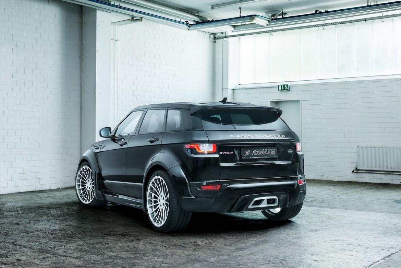 Hamman lleva al gimnasio al Range Rover Evoque: ¡Ahora más llamativo! 2