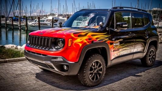 Jeep Renegade Hell's Revenge: Un one-off creado con Harley-Davidson