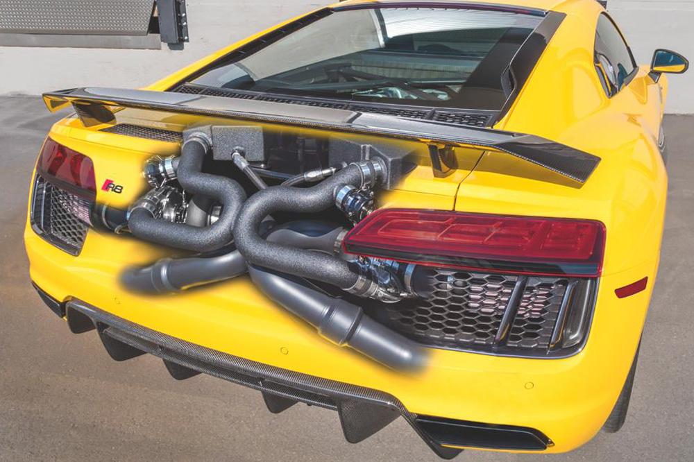 El Audi R8 Plus Underground Racing recibe un kit Twin-Turbo y entrega... ¡2.200 CV de potencia! 4