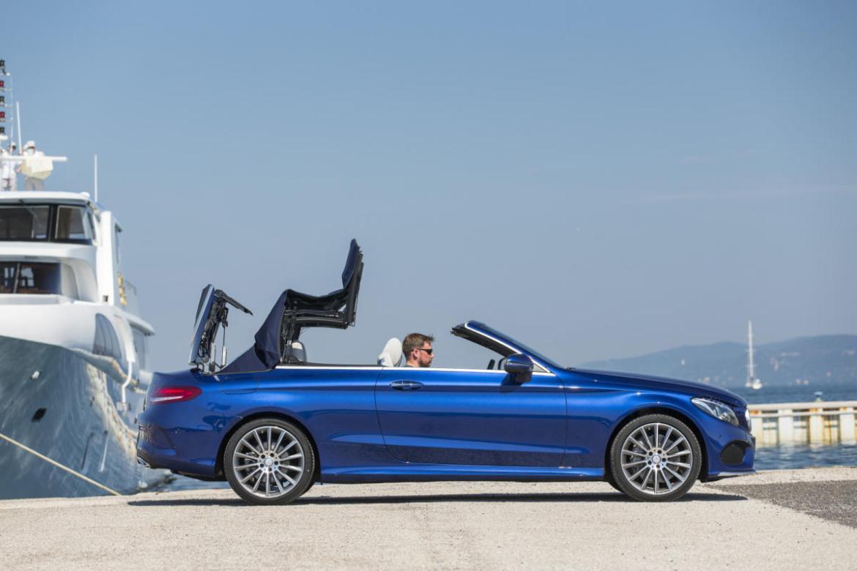 Llega el verano y con él, el Mercedes Clase C Cabrio: Desde 47.900 euros 1