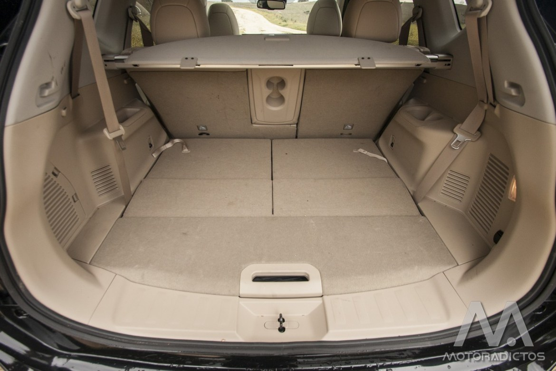 Prueba: Nissan X-Trail DIG-T 163 CV 4x2 Tekna (diseño, habitáculo, mecánica) 17