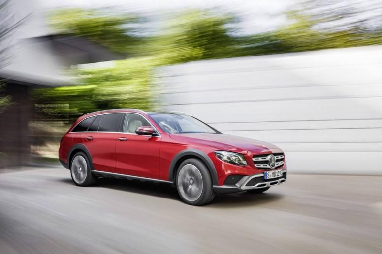 Mercedes Clase E All-Terrain: La mejor forma de hacerte con un Clase E apto para el campo