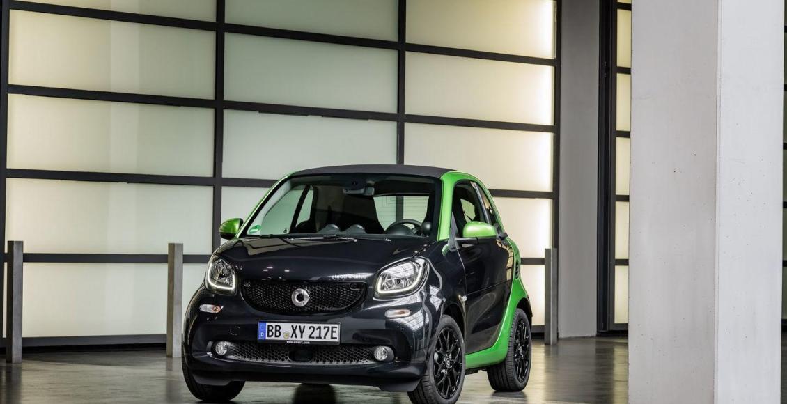 Smart Electric Drive 2017: La nueva gama eléctrica de Smart 52