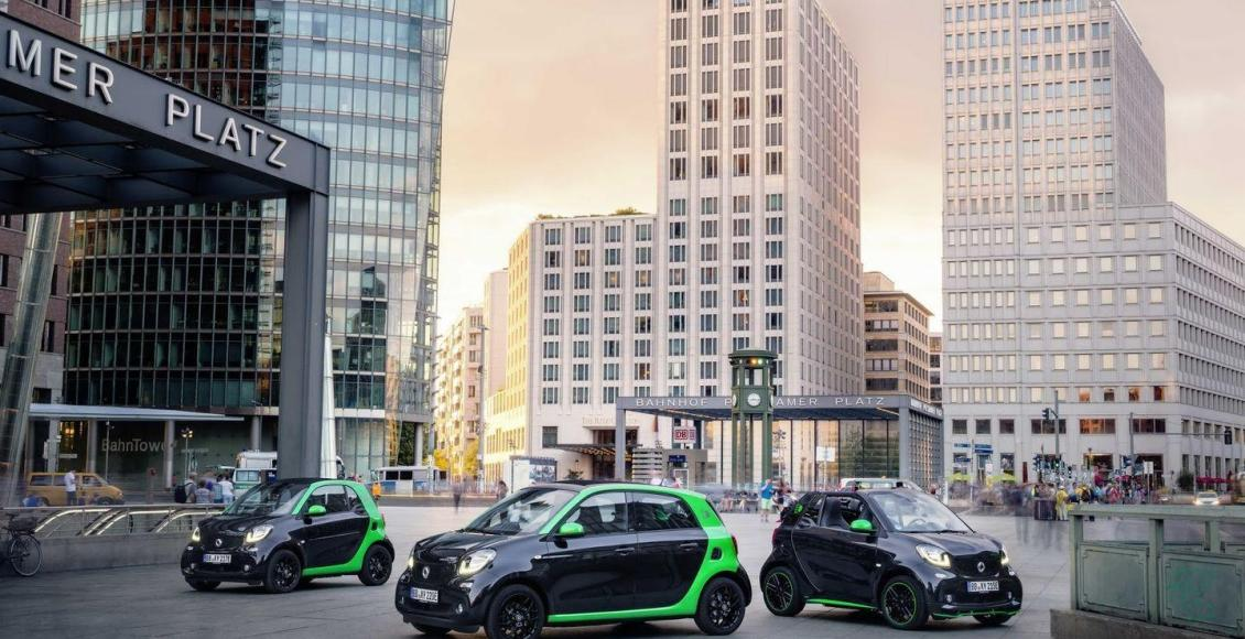 Smart Electric Drive 2017: La nueva gama eléctrica de Smart 77