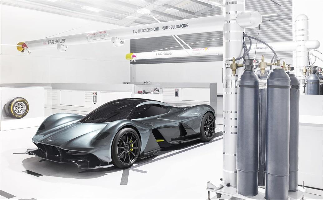 El Aston Martin AM-RB 001 será un Fórmula 1 de calle 3