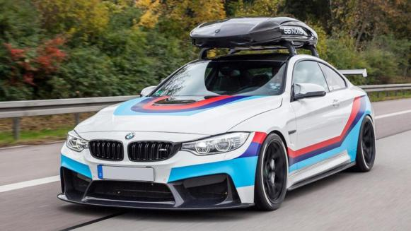 Carbonfiber Dynamics M4R: El BMW M4 de 710 CV con escape Akrapovic y cofre en el techo
