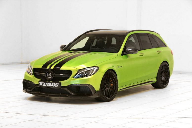 Brabus Mercedes-AMG C 63 S Estate con 650 CV: ¡Imposible pasar desapercibido con este familiar!