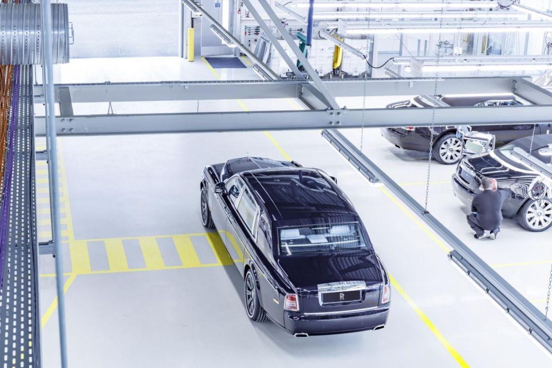 Concluye la producción del Rolls-Royce Phantom VII tras trece años en el mercado