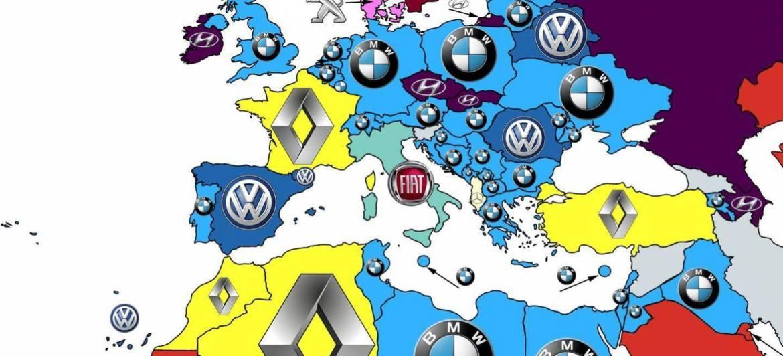 ¿Cuáles son las marcas de coches más buscadas en Google por países?