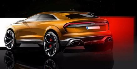 Audi Q8 Sport Concept, nuevo anticipo del buque insignia alemán