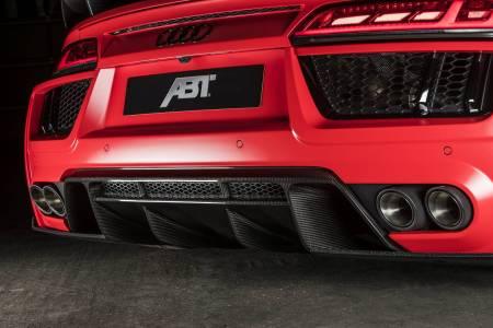 Audi R8 V10 por ABT: Quítame 50 kg, añádeme 20 CV