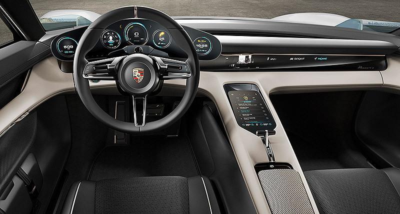 El Porsche Mission E llegará al mercado con diferentes potencias