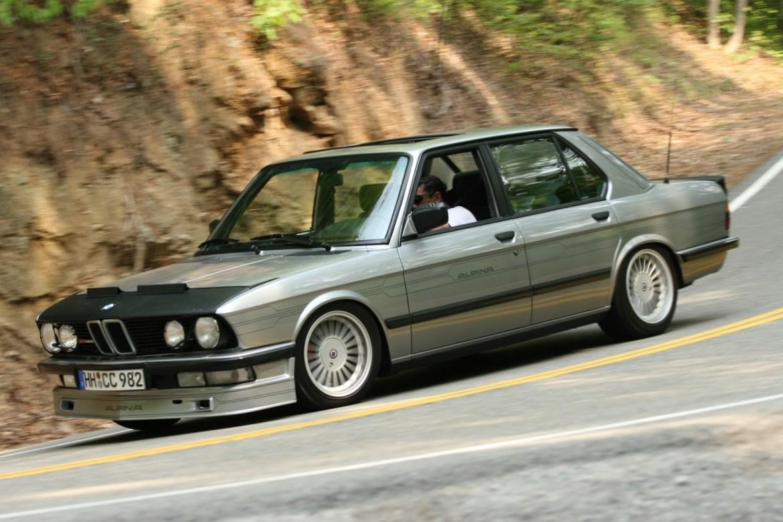 Ahora puedes hacerte con este Alpina B7 Turbo de 1986 construido sobre la base del BMW M5 E28... pero no te saldrá nada barato