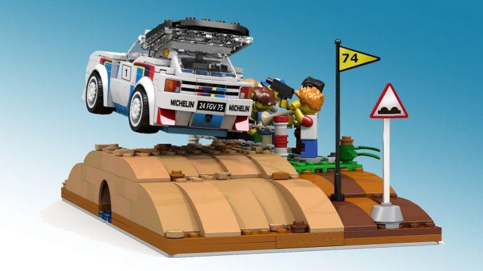 ¿Quieres un Peugeot 205 T16 de LEGO? Si colaboras, puede llevarse a cabo