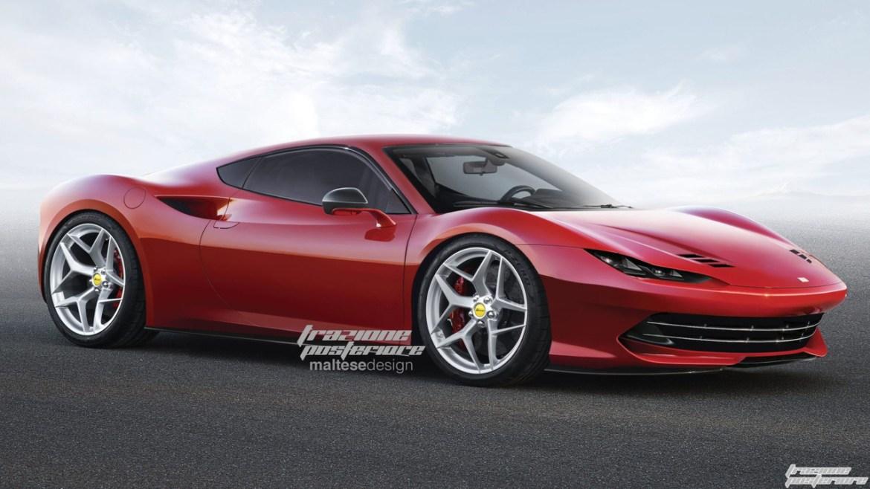 ¿Será así? Ilustraciones del futuro Ferrari Dino, más información