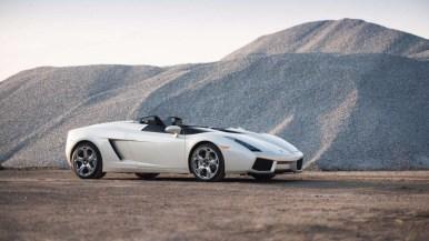 A subasta (otra vez) el único Lamborghini Concept S funcional