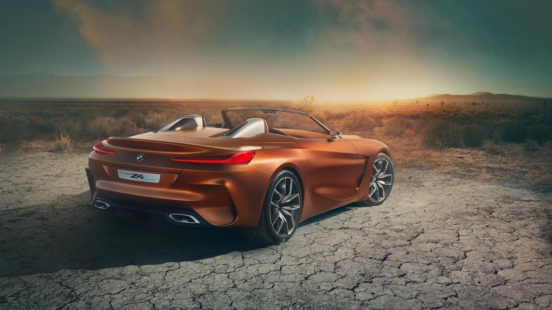 Oficial: BMW Z4 Concept, datos y galería de fotos