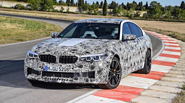 ¡Sorpresa! El nuevo BMW M5 debutará en solo unas semanas