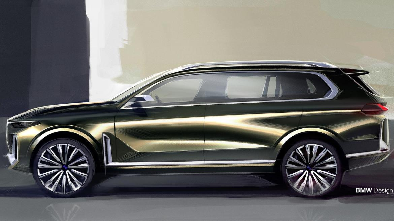 Oficial: el BMW X7 debutará en octubre