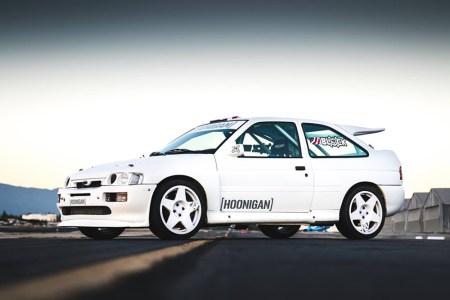 El nuevo coche de Ken Block es un... ¡Ford Escort RS Cosworth!