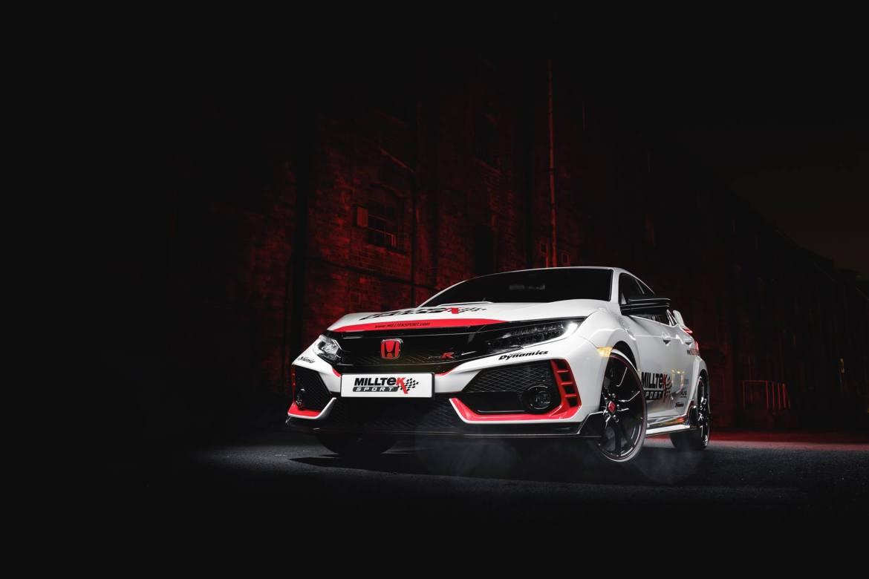 Milltek lanza su escape deportivo para el Honda Civic Type R 2018: Hora del mambo