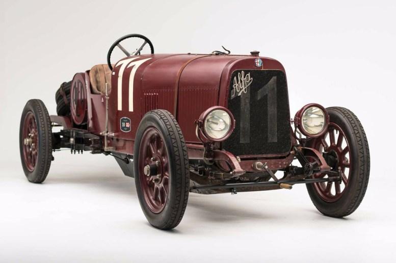 ¿Quieres hacerte con el primer modelo de Alfa Romeo? Sale a subasta el G1 de 1921