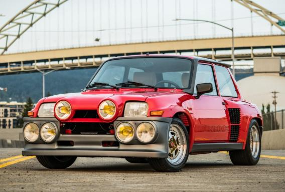 ¿Quieres un espectacular Renault R5 Turbo 2 Evolution de 1985 en estado de museo? Es tu oportunidad