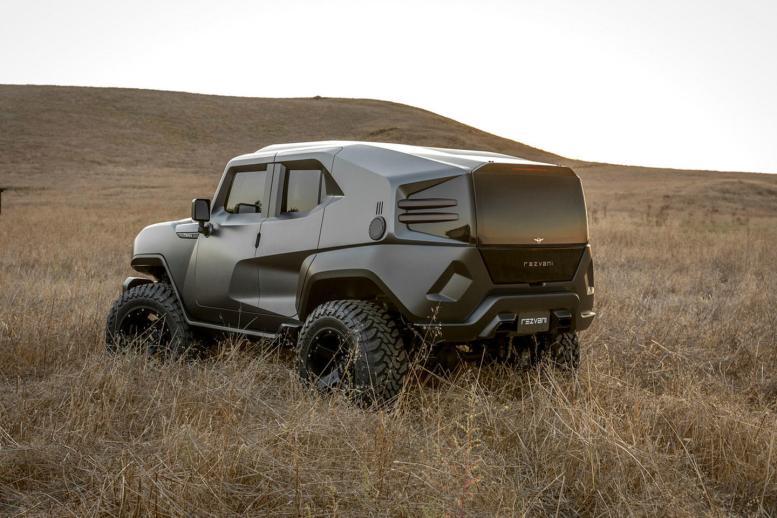 Rezvani Tank: Este Wrangler transformado con 500 CV con el que sobrevivirás al apocalipsis