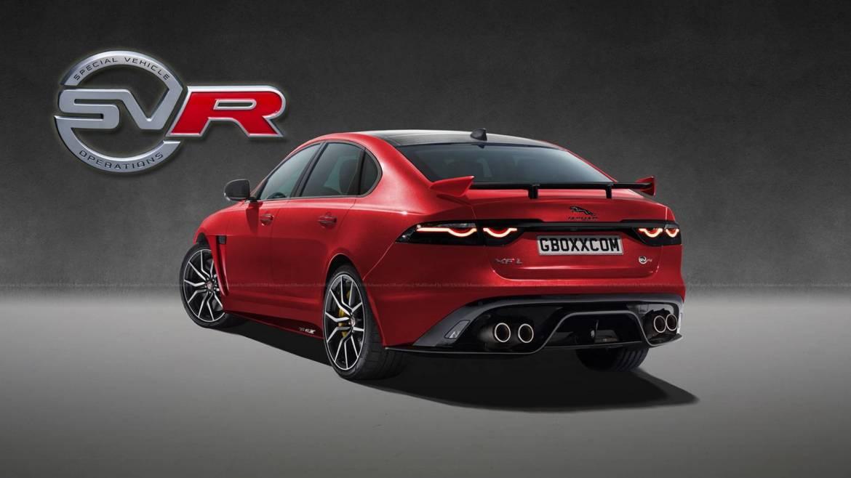 El Jaguar XF SVR apunta muy alto, ¿llegará al mercado?