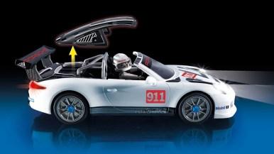 Vuelve a sentirte joven: Playmobil presenta su Porsche 911 GT3 Cup de juguete