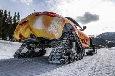 Nissan 370Zki: Si buscas un deportivo para la nieve, esta es la mejor opción