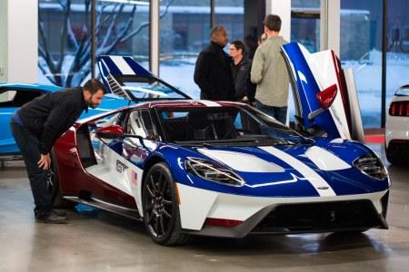 Sólo los empleados de Ford pueden optar por el acabado 'Victory' en el Ford GT