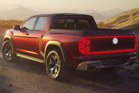Volkswagen Atlas Tanoak Concept: Un pick-up sobre la base del SUV Atlas