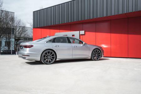 ABT le da cariño al Audi A8 50 TDI: Más potencia y cambios estéticos