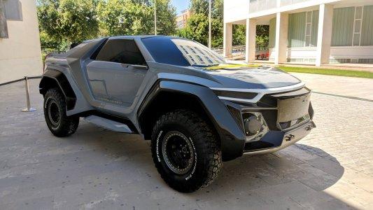 DSD Golem Concept: Un SUV con 700 CV creado en la UPV
