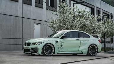 El BMW M2 de Z-Performance recibe un ensanche brutal