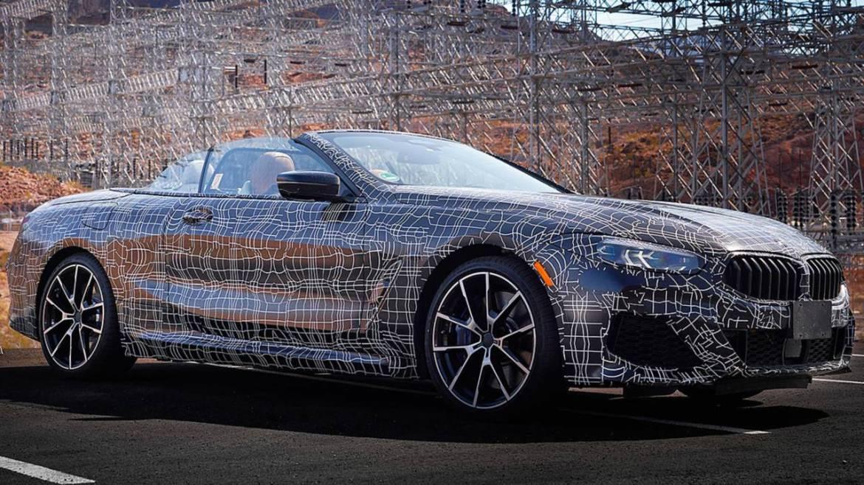 BMW anticipa el Serie 8 Cabrio desde Las Vegas