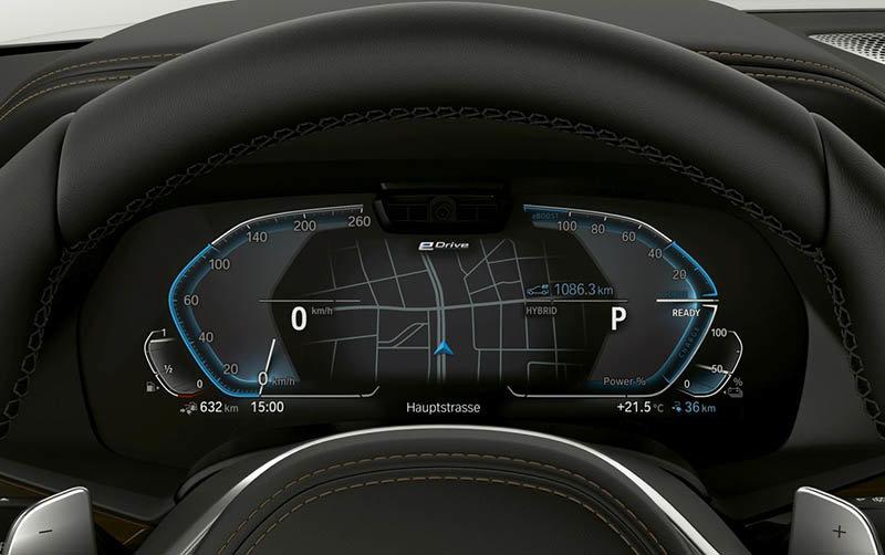 BMW X5 xDrive45e iPerformance: Con una autonomía eléctrica de 80 km