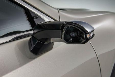 El Lexus ES será el primer coche gran tirada sin retrovisores exteriores