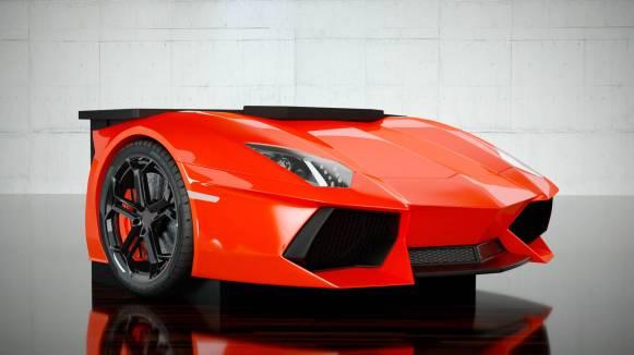 ¿Quieres tener el frontal de un Lamborghini Aventador en tu escritorio? Prepara 30.000 euros