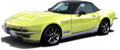 Mitsuoka Rock Star: Un Mazda MX-5 transformado en un Corvette C2
