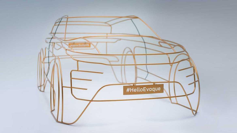 Así es el nuevo Range Rover Evoque: primer anticipo oficial