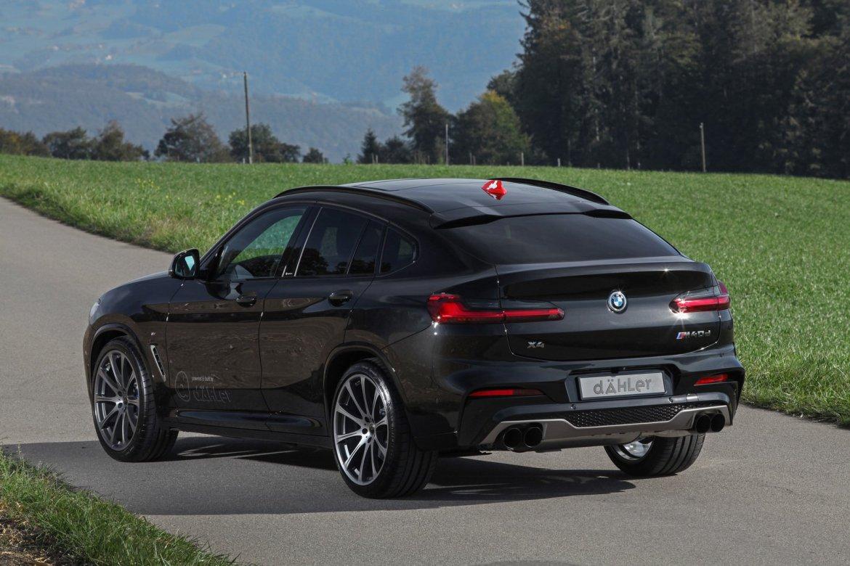 El BMW X4 de Dahler te pone en bandeja hasta 420 CV de potencia