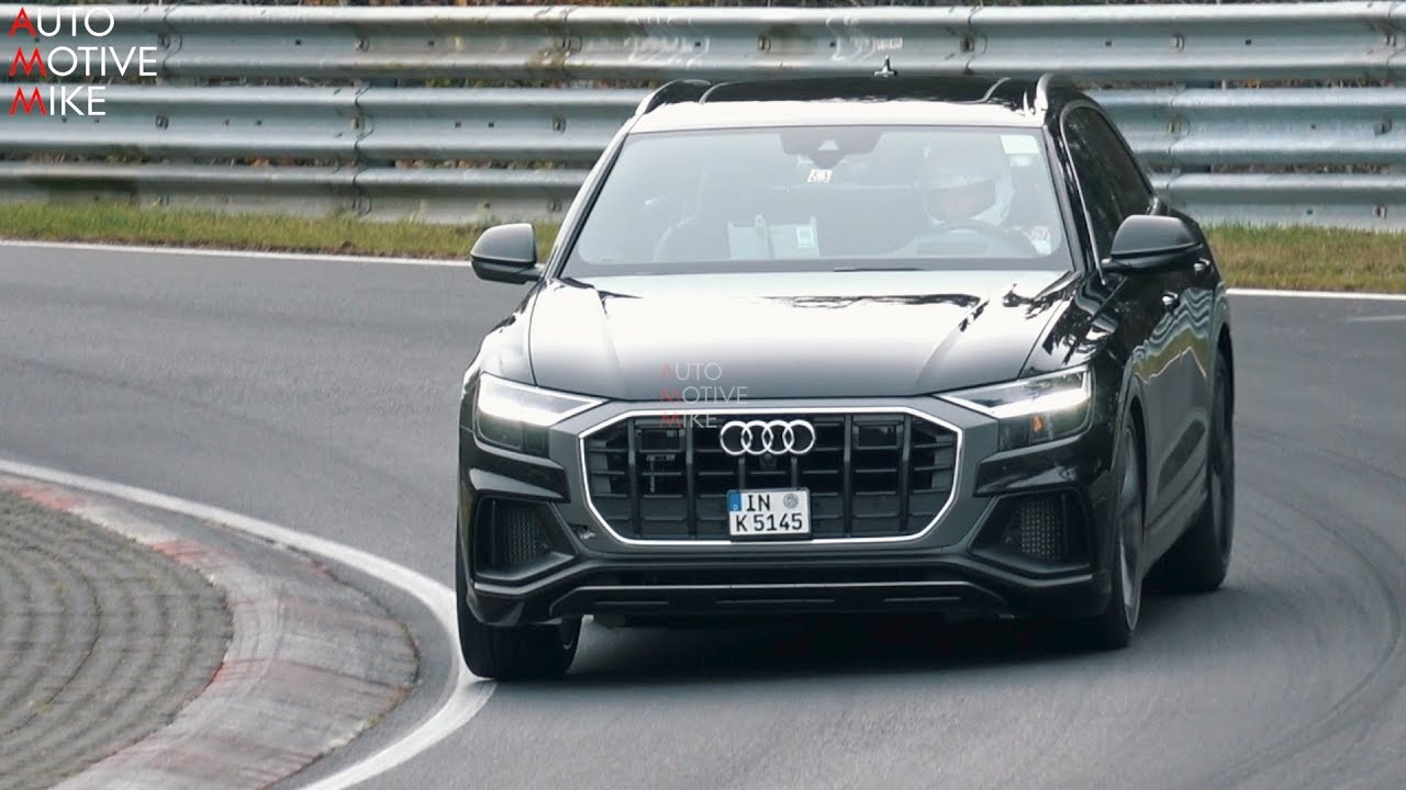 2019 AUDI SQ8 SPIED TESTING AT THE NÜRBURGRING