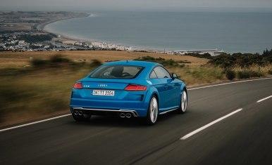 Audi TTS 2019: Pequeños cambios estéticos y más equipamiento
