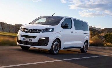 Opel Zafira Life: De monovolúmen a furgoneta de pasajeros
