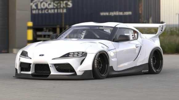 ¿Estamos ante el kit de carrocería más espectacular sobre el nuevo Toyota Supra A90? Sin lugar a dudas, sí