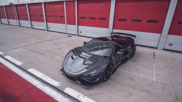 Tushek TS 900 H Apex: Superdeportivo híbrido con casi 1.000 caballos